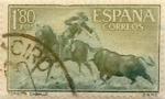 Sellos de Europa - España -  1,80  pesetas 1960