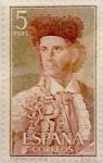 Stamps Spain -  5  pesetas 1960