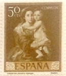 Sellos de Europa - España -  50 céntimos 1960