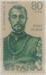 Stamps Spain -  80 céntimos 1960