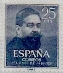 Sellos de Europa - España -  25 céntimos 1960