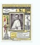 Stamps : America : Peru :  Fray Martin de Porras