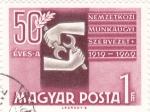 Stamps Hungary -  50 Aniversario Organización Internacional del Trabajo