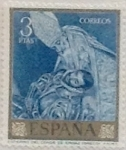 Stamps Spain -  3 pesetas 1961