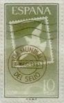 Stamps Spain -  10 peseta 1961