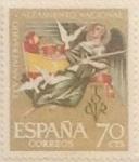 Sellos de Europa - España -  70 céntimos 1961