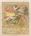 Stamps Spain -  70 céntimos 1961