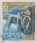 Sellos de Europa - España -  6 pesetas 1961
