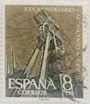 Sellos de Europa - España -  8 pesetas 1961