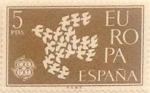 Sellos de Europa - España -  5 pesetas 1961