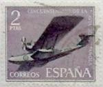Sellos de Europa - España -  2 pesetas 1961