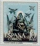 Sellos de Europa - España -  10 pesetas 1961