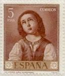 Stamps Spain -  5 pesetas 1962