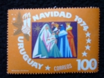 Stamps of the world : Uruguay :  Navidad