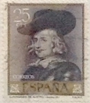 Stamps Spain -  25 céntimos  1962
