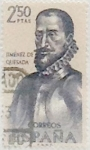Sellos de Europa - España -  2,50 pesetas 1962