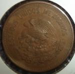 monedas del Mundo : America : México :  1955 (Reverso)