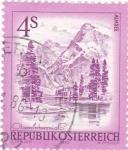 Stamps Austria -  paisaje  de Almsee