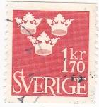 Sellos de Europa - Suecia -  3 coronas