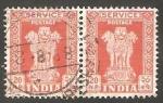 Stamps India -  Columna de Asoka