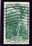 Stamps Italy -  En beneficio de las milicias voluntarias. Emblema