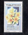 Sellos del Mundo : America : México : Cacalosúchil (Plumeria rubra)