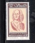 Sellos del Mundo : America : México : Año de Vivaldi
