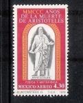 Sellos del Mundo : America : México : MMCCC años de la muerte de Aristóteles