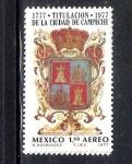 Stamps : America : Mexico :  200 años de la titulación de la Ciudad de Campeche