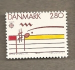 Stamps Europe - Denmark -  Notas musicales