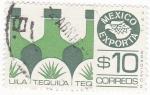 Sellos de America - México -  MEXICO EXPORTA- Tequila