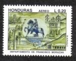 Sellos de America - Honduras -  Departamento de Francisco Morazán