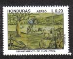Stamps Honduras -  Departamento de Choluteca