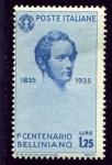 Sellos de Europa - Italia -  Centenario de la muerte del compositor Vincenzo Bellini. Vincenzo Bellini