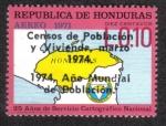 Sellos de America - Honduras -  25 años de Servicio Cartográfico Nacional