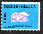 Sellos de America - Honduras -  Inva