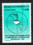Stamps Honduras -  XVII Congreso Interamericano de La Industria de La Construcción