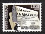 Sellos de America - Honduras -  La Gaceta
