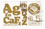 Stamps Mexico -  MEXICO EXPORTA- Minerales
