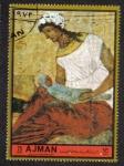 Sellos de Asia - Emiratos Árabes Unidos -  Ajman, Virgin and Baby