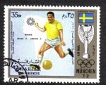 Stamps United Arab Emirates -  Sharjah, Munchen 72