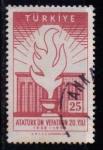 Sellos de Asia - Turquía -  1414 - 20 anivº de la muerte de Atatürk
