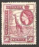 Stamps : Africa : Kenya :   Elizabeth II, y jiraja