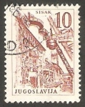 Stamps Yugoslavia -  1961 - 854 - Acería de Sisak