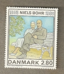 Stamps Europe - Denmark -  Niels Bohr, físico