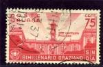 Stamps Italy -  Bimilenario del nacimiento de Horacio. El capitolio