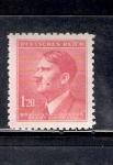 Sellos de Europa - Checoslovaquia -  Hitler