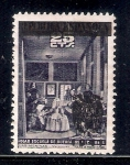"Stamps of the world : Spain :  Cuadro: ""Las Meninas"" de Velàzquez"