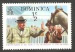 Stamps : America : Dominica :  396 - Centº del nacimiento de Winston Churchill