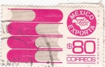 Sellos de America - México -  MEXICO EXPORTA-libros